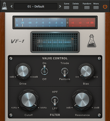 AudioThing Valve Filter VF-1 v1.5.1 WiN and OSX Incl Patched and Keygen