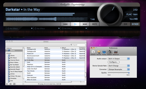 Audiofile Engineering Fidelia 1.6.3 Mac OS X