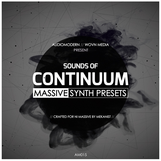 Audiomodern Continuum For WAV Ni MASSiVE NSMV