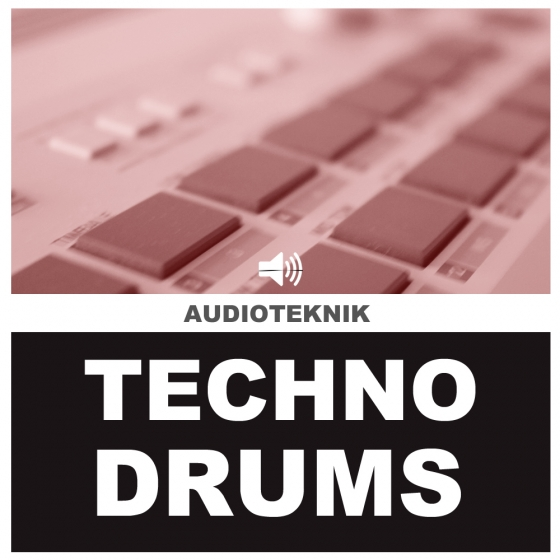 Audioteknik Techno Drums 2 WAV-AUDIOSTRiKE