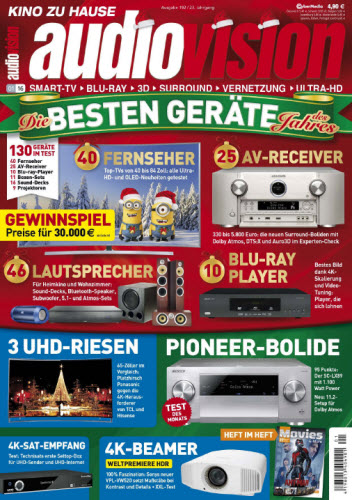 Audiovision Magazin Januar No 01 2016