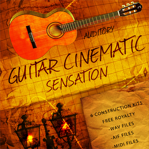Auditory Guitar Cinematic Sensation ACID WAV AiFF MiDi-MAGNETRiXX