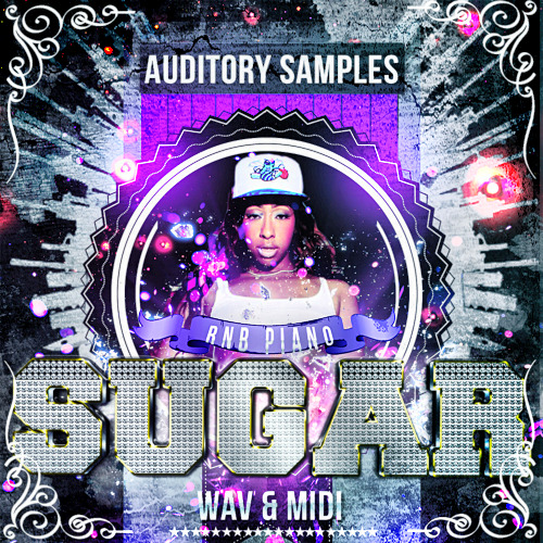 Auditory RnB Piano Sugar ACID WAV MiDi-DISCOVER