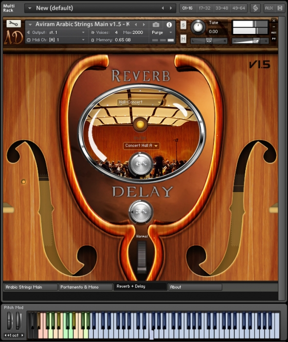 Aviram Dayan Production Aviram Arabic Strings V1.5 KONTAKT
