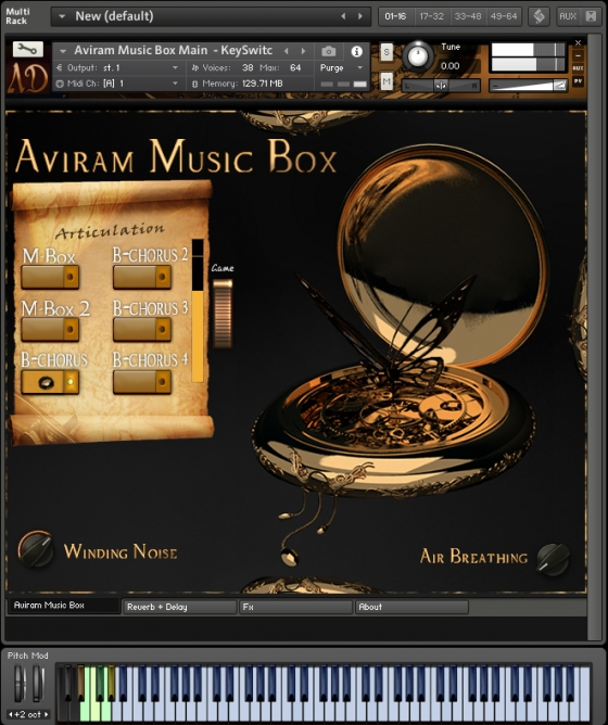 Aviram Dayan Production Aviram Music Box 1.0 KONTAKT
