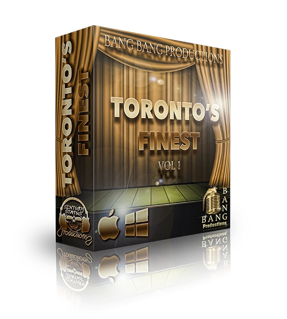 Bang Bang Productions Toronto's Finest Vol 1 WAV MiDi