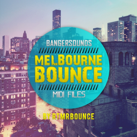 Banger Music Records Melbourne Bounce MIDI Drops WAV MiDi