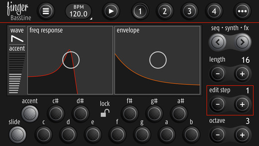 BassLine Analog Modeling Synthesizer 5.0.1 for iOS