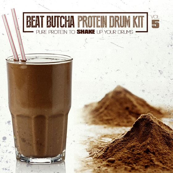 Beat Butcha Pure Protein Drum Kit Vol. 5 WAV