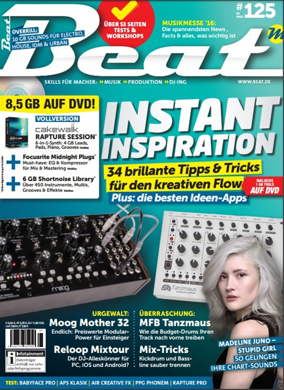 Beat Magazin Mai 2016
