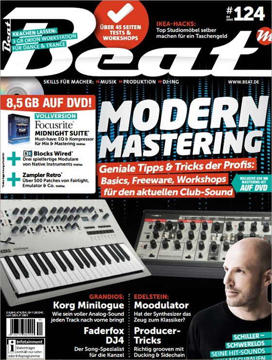 Beat Musikermagazin April No 04 2016