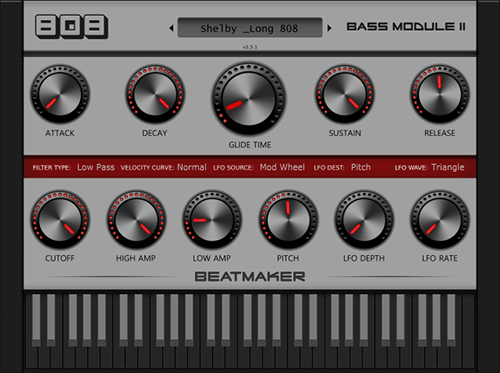 BeatMaker 808 Bass Module 2 v2.5.1 WiN/MAC