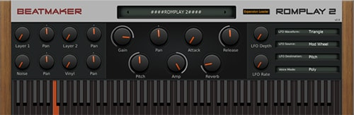 BeatMaker RomPlay 2 v2.1 VST AU MAC/WiN