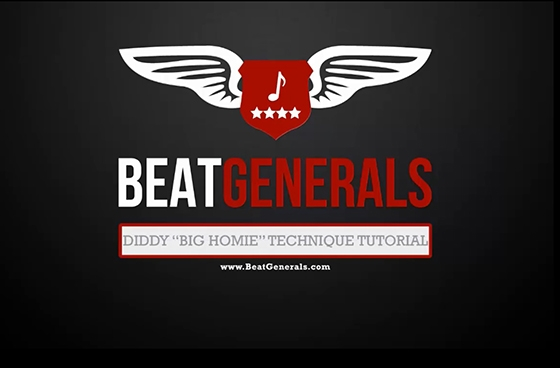 Beatgenerals.com Diddy Big Homie TUTORiAL