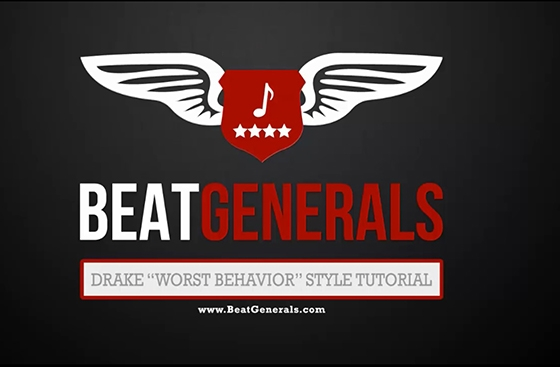 Beatgenerals.com Drake Worst Behavior Style FL Studio TUTORiAL