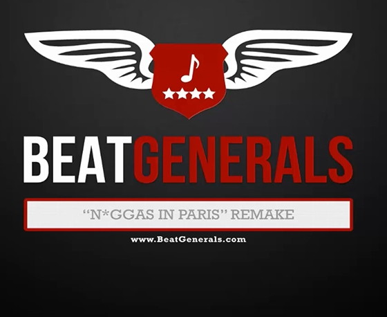 Beatgenerals.com N*ggas In Paris Hit-Boy FL Studio Remake WAV TUTORiAL