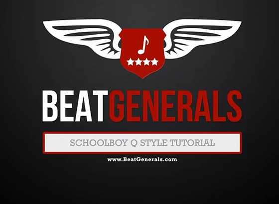 Beatgenerals.com Schoolboy Q/Sample Tutorial WAV MiDi FLP TUTORiAL