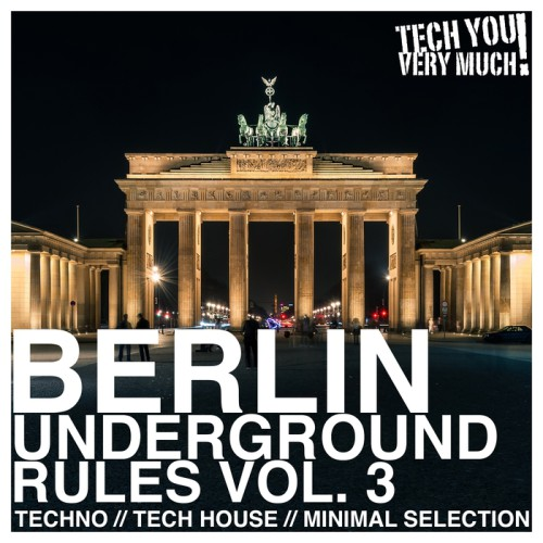 VA - Berlin Underground Rules Vol 3 2017 (Techno, Tech House, Minimal Selection) [TYVM0142]