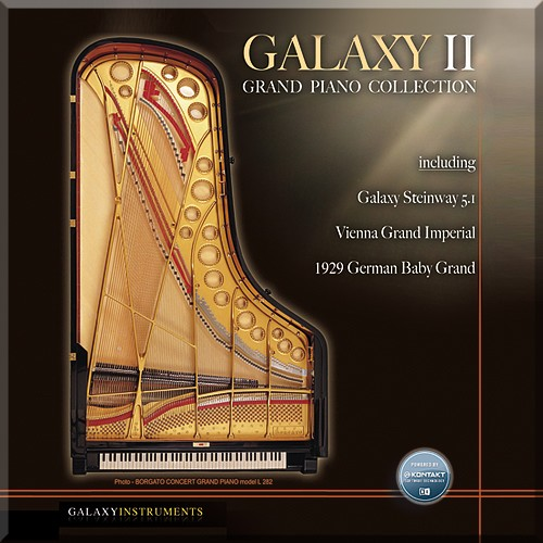 Best Service Galaxy II German Baby Grand v1.0 KONTAKT