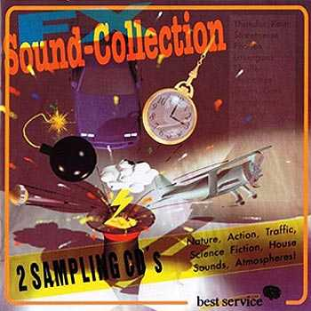Best Service Sound Collection FX CD1 + CD2-SUNiSO