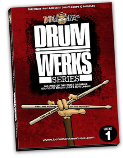Beta Monkey Drum Werks Vol 1 Rock