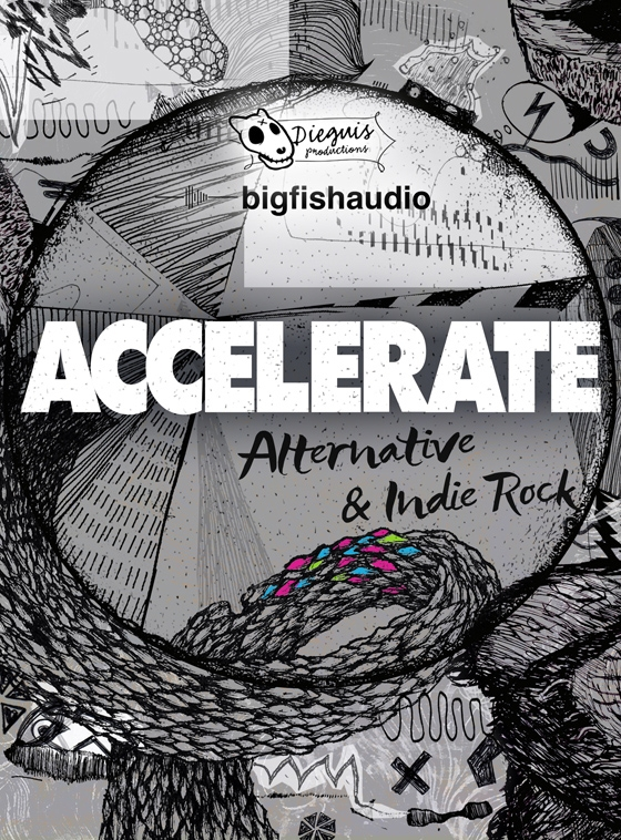 Big Fish Audio Accelerate Alternative and Indie Rock MULTiFORMAT