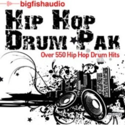 Big Fish Audio Hip Hop Drum Pak MULTiFORMAT-DYNAMiCS