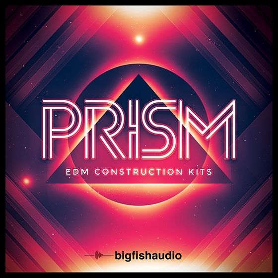 Big Fish Audio PRISM EDM Construction Kits MULTiFORMAT
