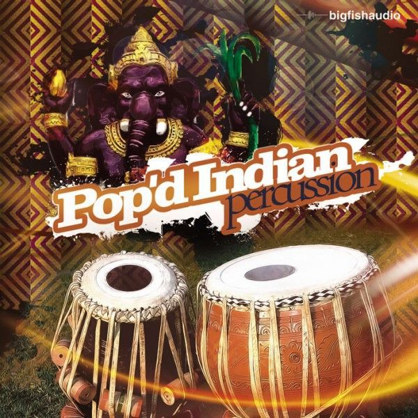 Big Fish Audio Pop'd Indian Percussion KONTAKT
