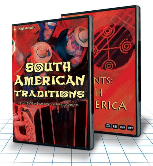 Big Fish Audio South American Traditions MULTiFORMAT