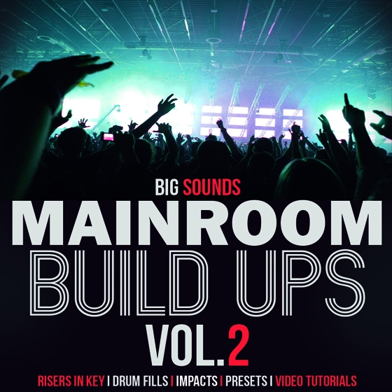 Big Sounds Mainroom Build Ups Vol.2 WAV Ni Massive TUTORiAL