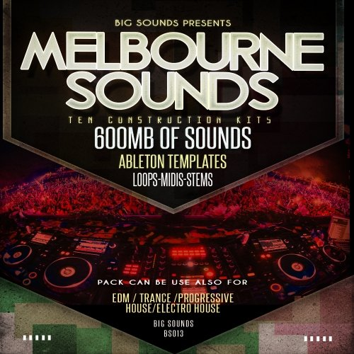 Big Sounds Melbourne Sounds WAV MiDi Ableton Template Projects