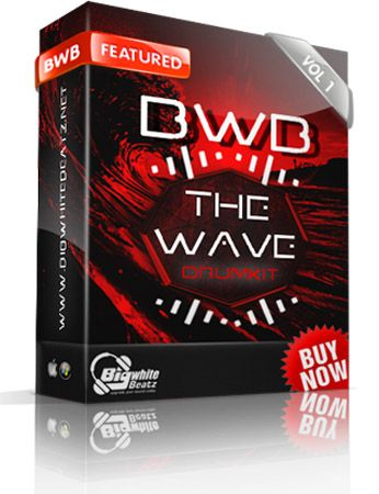 Big White Beatz The Wave Drum Kit Vol.1 WAV