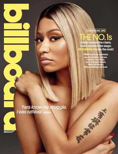 Billboard Magazine 19 December 2015