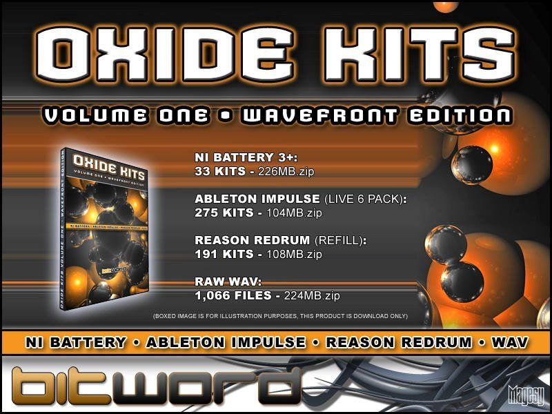 Bitword Oxide Kits Vol.1 Wavefront Edition MULTiFORMAT DVDR-DYNAMiCS