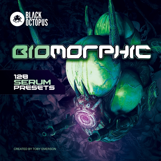 Black Octopus Sound Biomorphic For XFER RECORDS SERUM FXP