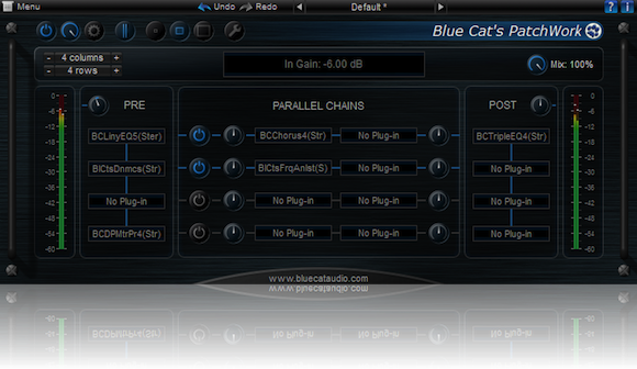 Blue Cat Audio Blue Cat PatchWork Stand Alone Application v1.7.1 WiN OSX RETAiL Incl. R2R