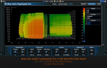Blue Cat Audio FreqAnalyst Pro v1.95 Ked MAC OSX-Kleen
