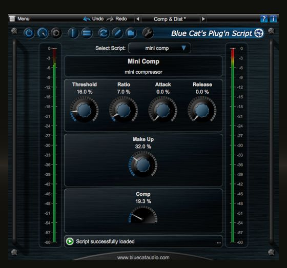 Blue Cat Audio Plug'n Script v2.0 MAC OSX-Kleen