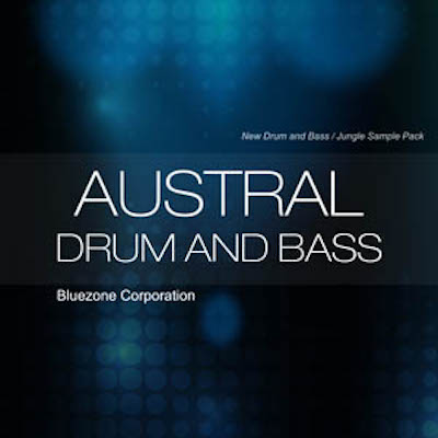 Bluezone Corporation Austral Drum and Bass WAV