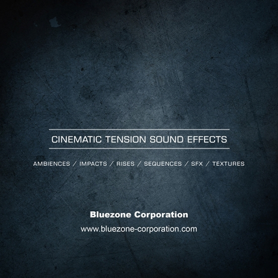 Bluezone Corporation Cinematic Tension Sound Effects WAV