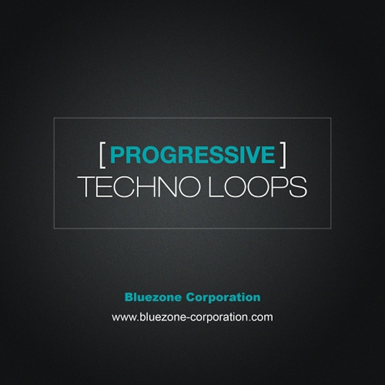 Bluezone Corporation Progressive Techno Loops WAV AiFF