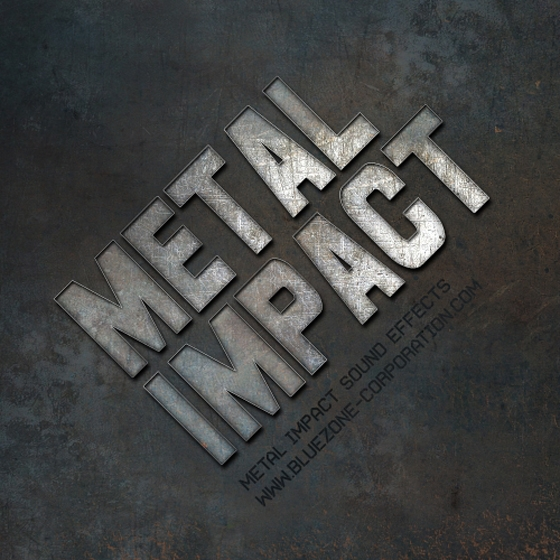 Bluezone Metal Impact Sound Effects WAV AiFF-AUDIOSTRiKE