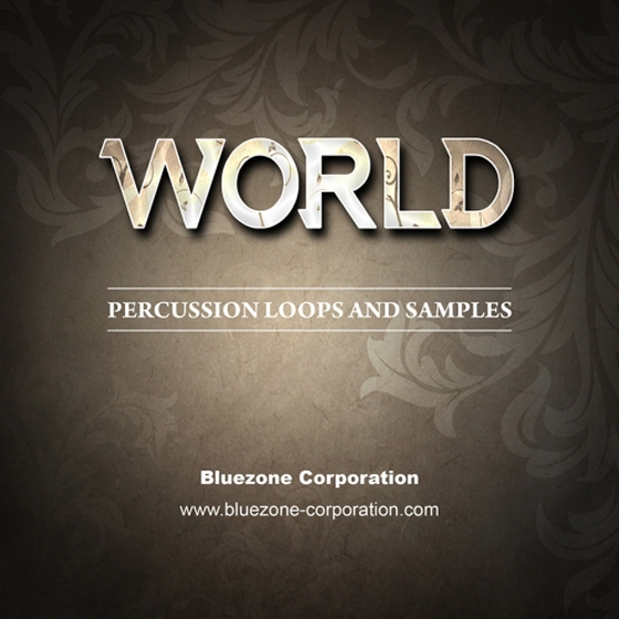 Bluezone World Percussion Loops and Samples WAV AiFF