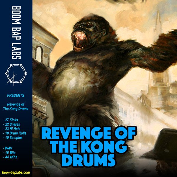Boom Bap Labs Night of The Living Drums WAV