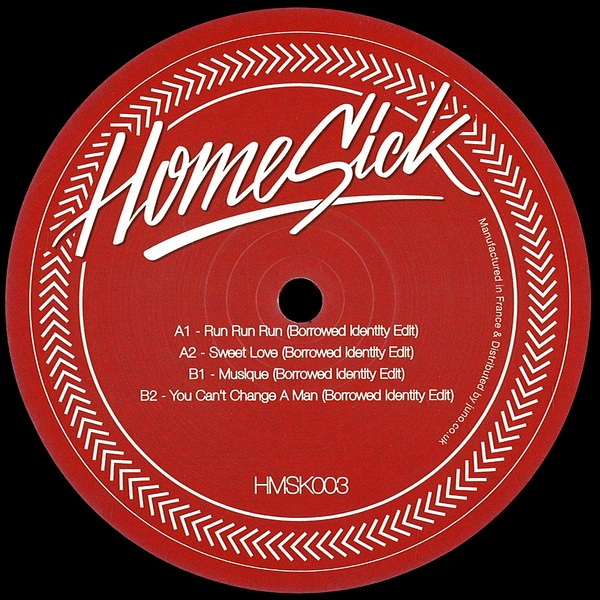 Borrowed Identity - Homesick Edits #3 [HMSK003]