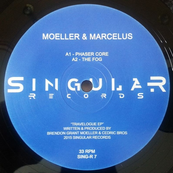 Brendon Moeller & Marcelus – Travelogue EP [SINGR7]