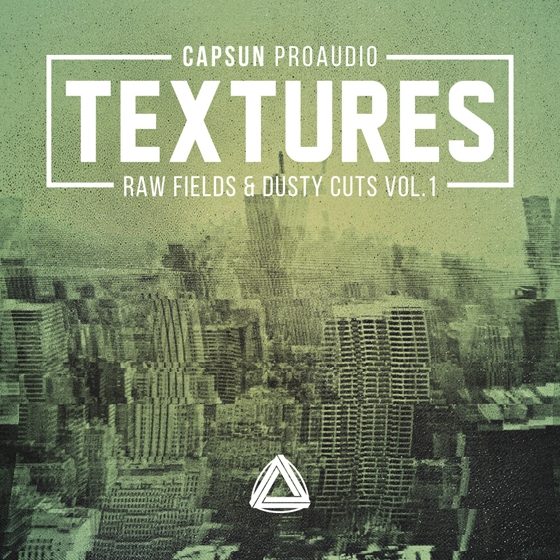 CAPSUN ProAudio Textures Raw Fields and Dusty Cuts Vol. 1 MULTiFORMAT