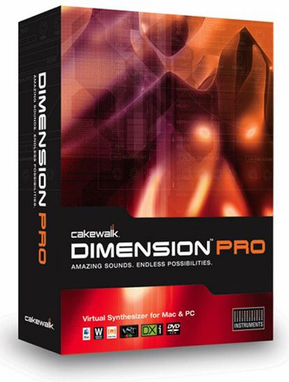 Cakewalk Dimension Pro v1.5.5.16 Incl Keygen-R2R