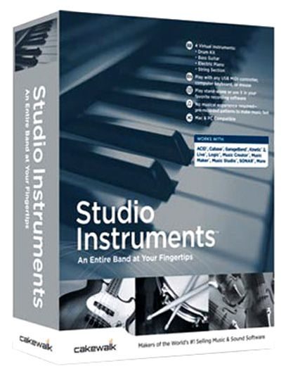 Cakewalk Studio Instruments Suite v1.0.0.10-R2R